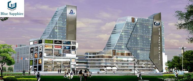 Galaxy Blue Sapphire Plaza Noida Extension