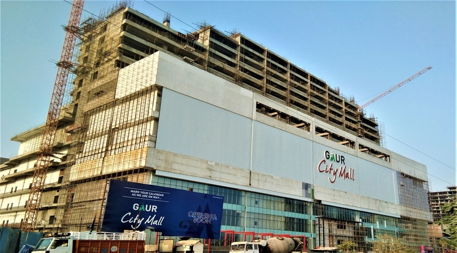 Gaur City Mall, Noida Extension