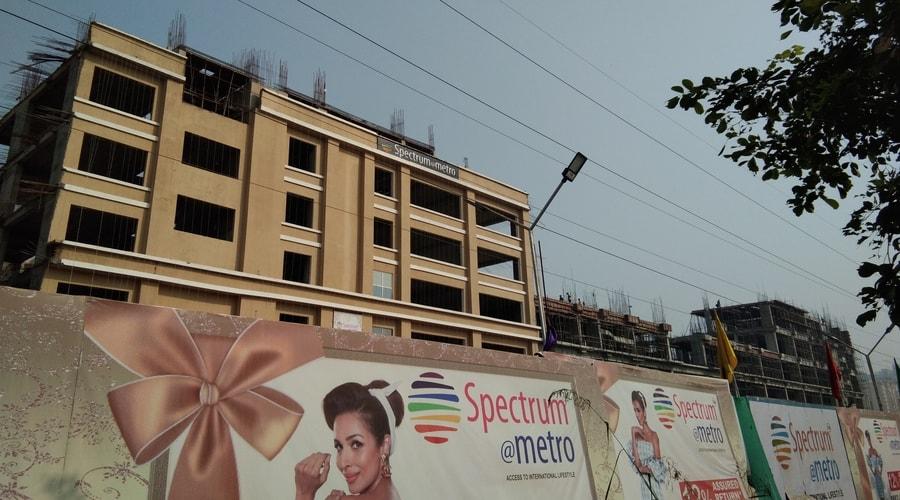spectrum metro mall, sector 75 noida