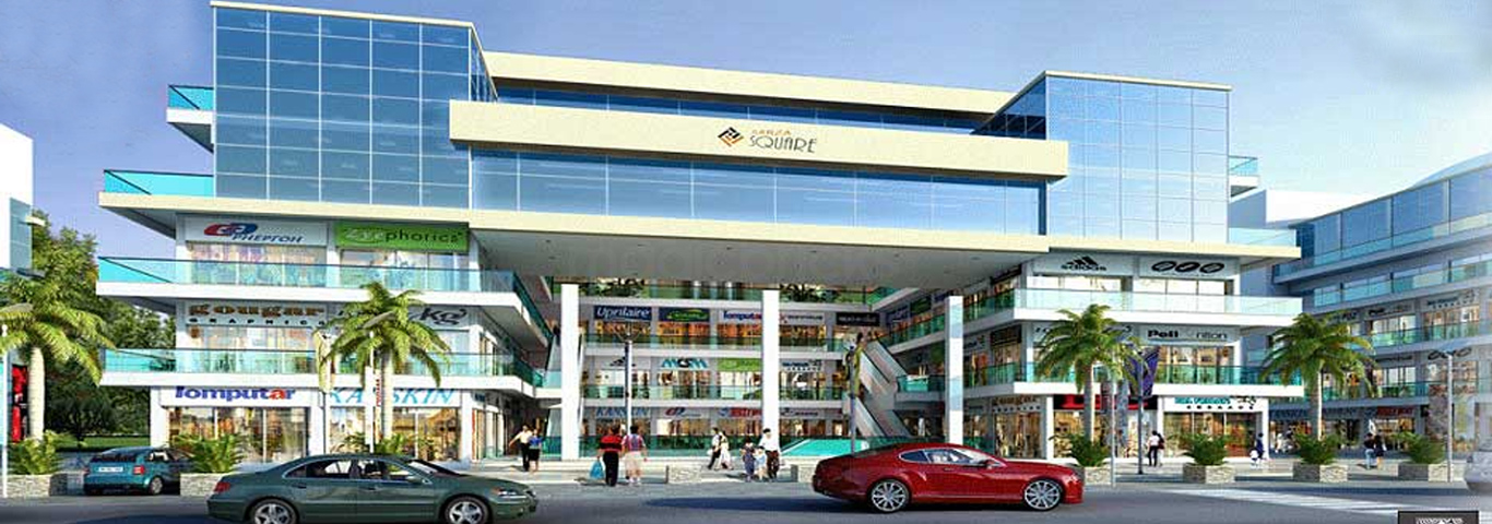 aarza square noida extension, commercial shop