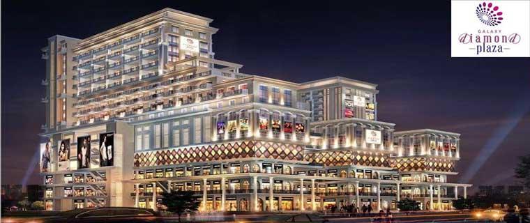galaxy diamond plaza mall, noida extension