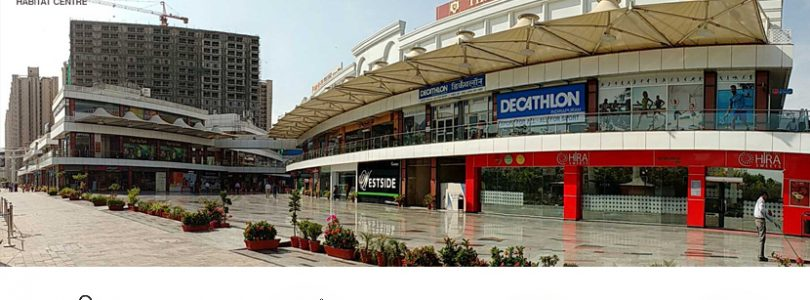 indirapuram habitat centre, commercial shop