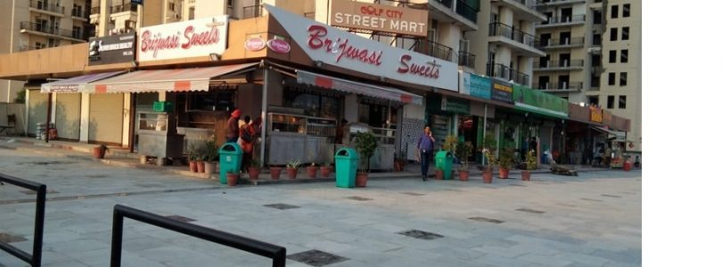 gardenia golf street mart sector 75 noida