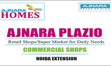 ajnara plazio noida extension commercial shops