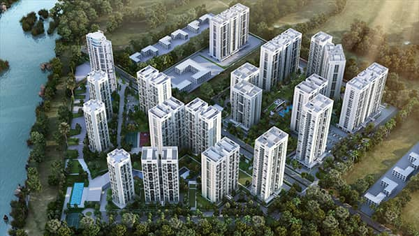 godrej infinity, best residential societies for living in pune, apartments, flats, villa, top