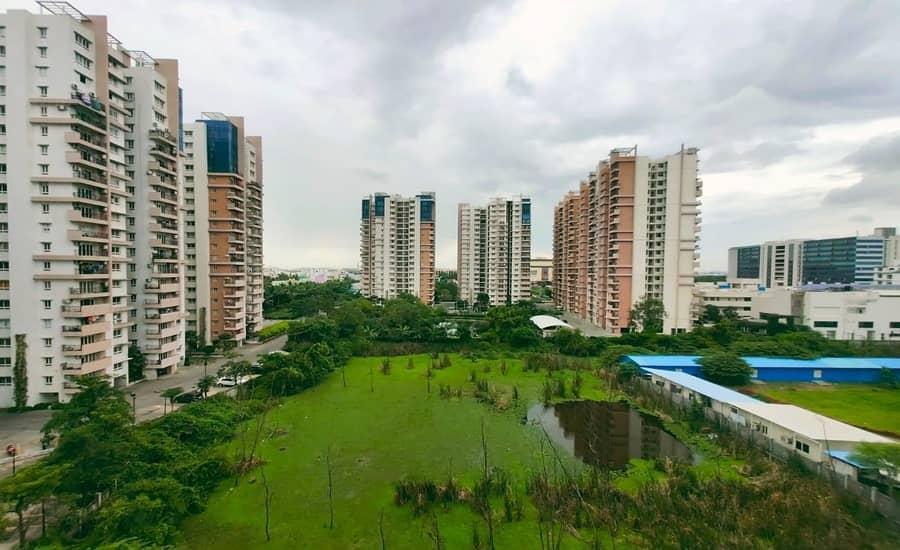 Olympia Opaline Apartments Navalur Chennai South