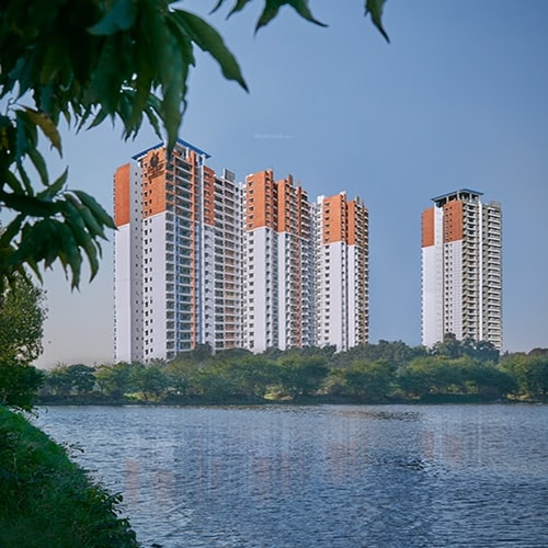 Prestige Misty Waters Vista Tower Apartments Hebbal Bangalore North