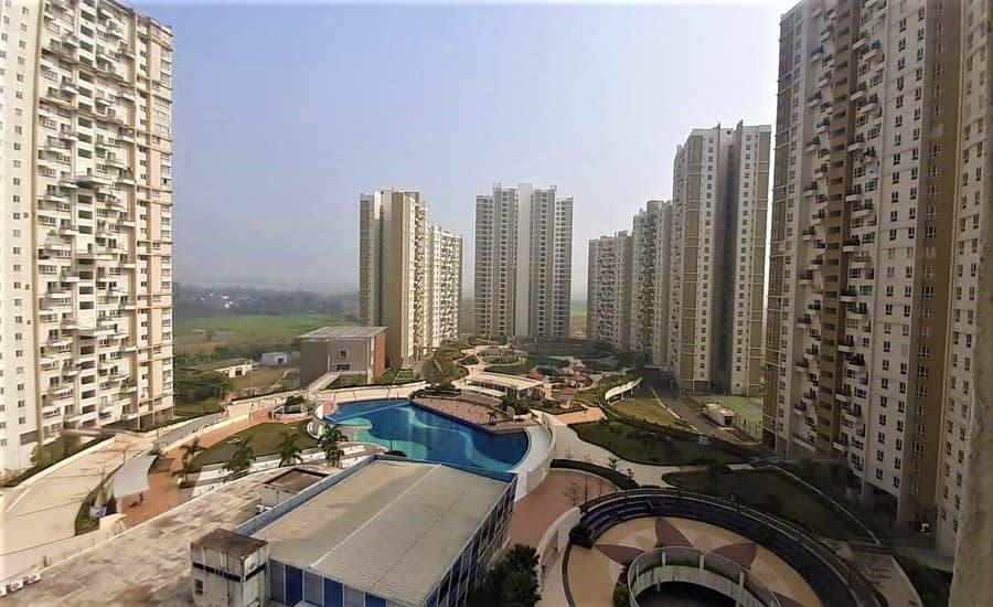 Elita Garden Vista Apartments New Town Kolkata East