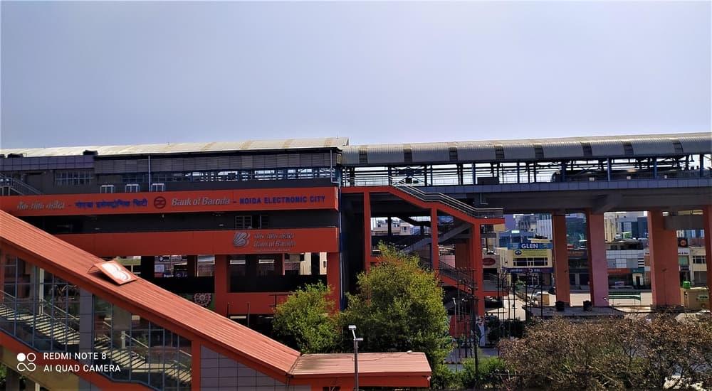 Sctor 62 Noida Electronic City Noida Metro Station